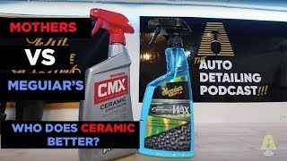 MOTHERS CMX VS MEGUIARS HYBRID CERAMIC WAX - WHICH LEGACY BRAND WINS CERAMICS?
