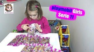 PLAYMOBIL Mädchen Sammelfiguren Serie 11 | Figures Girls Surprise Blind Bags Opening