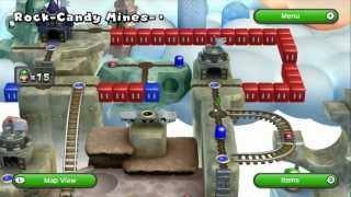 New Super Luigi U - Rock-Candy Mines 6-5 Secret Exit (Secret Entrance to 6-Castle)