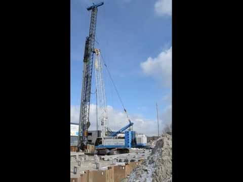 Liebherr HS 855 HD Piling Rig Ballast Nedam