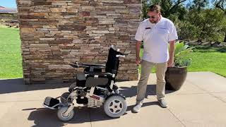 Porto Mobility Ranger The Beast Foldable Power Wheelchair Overview