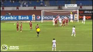 ملخص الشوط الاول -- تونس والمغرب - امم افريقيا 2012