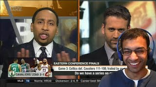 "STEPHEN A CALLS OUT LEBRON AFTER GAME 3 CHOKEJOB ""NO MORE EXCUSES!""