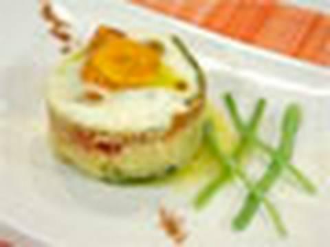 Timbal De Verduras Y Huevo Receta Mira La Vida