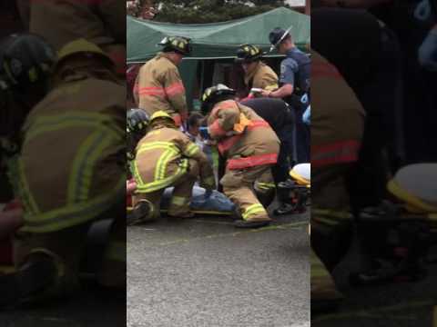 Tillamook High School Every 15 Minutes Mock Accident