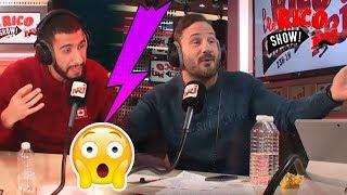 Grosse embrouille sur NRJ entre Malik et Sylvain - Le Rico Show sur NRJ