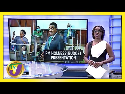 Jamaica's PM Andrew Holness 2020/2021 Budget Presentation | TVJ News