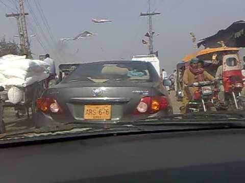 Traveling through larkana Sindh Pakistan