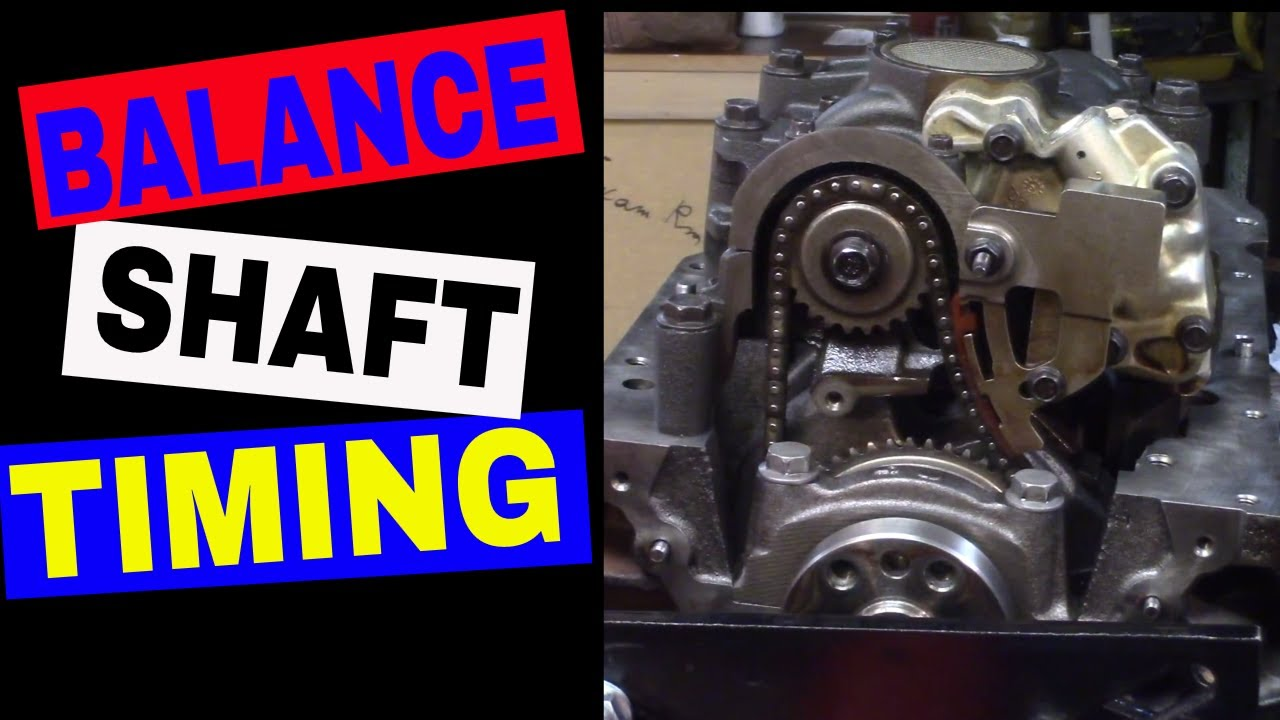 LD9 Engine Rebuild Part 10 - Installing Balance Shaft Chain - 1999 Grand Am  GM 2 4 Quad 4