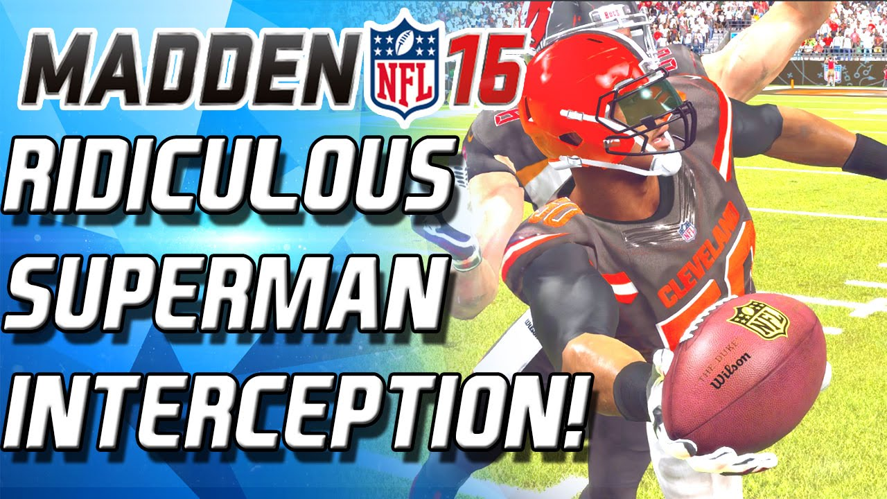 GREATEST INTERCEPTION YOU'LL EVER SEE! - Madden 16 Ultimate Team