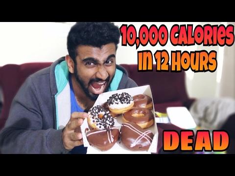 Extreme 10,000 Calorie Challenge in India ~ Shreyas Kamath