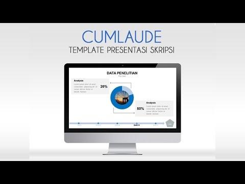 Contoh Slide Presentasi Sidang Skripsi Powerpoint Yang Terbaru 2016