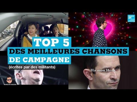 90''Politique : Top 5 des meilleures chansons de la présidentielle 2017