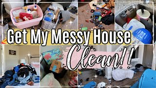 MESSY HOUSE TRANSFORMATION | XTRA SPECIAL CLEAN WITH ME 2019 | COMPLETE DISASTER CLEANING MOTIVATION