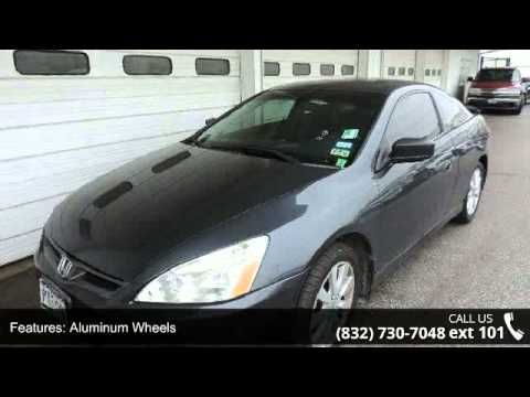 2007 honda accord cpe ex l mac haik ford houston tx youtube. Cars Review. Best American Auto & Cars Review