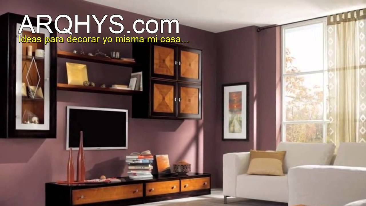 Ideas para decorar yo misma mi casa youtube for Colores para decorar una casa