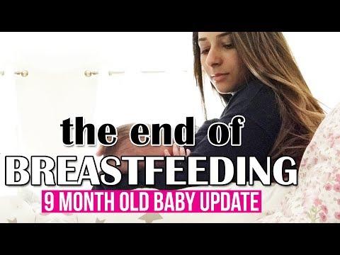 IT'S THE END OF BREASTFEEDING | 9 MONTH OLD BABY UPDATE, MILESTONES & DEVELOPMENT | Ysis Lorenna