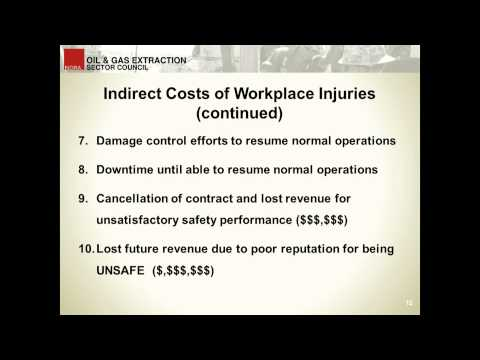 Business Impact of Injuries in Upstream Oil and Gas