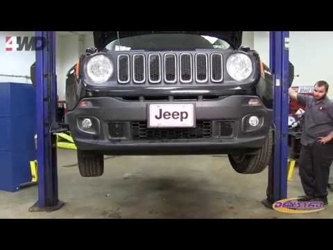 Daystar 1.5 Series Jeep Renegade Lift Kit Installation