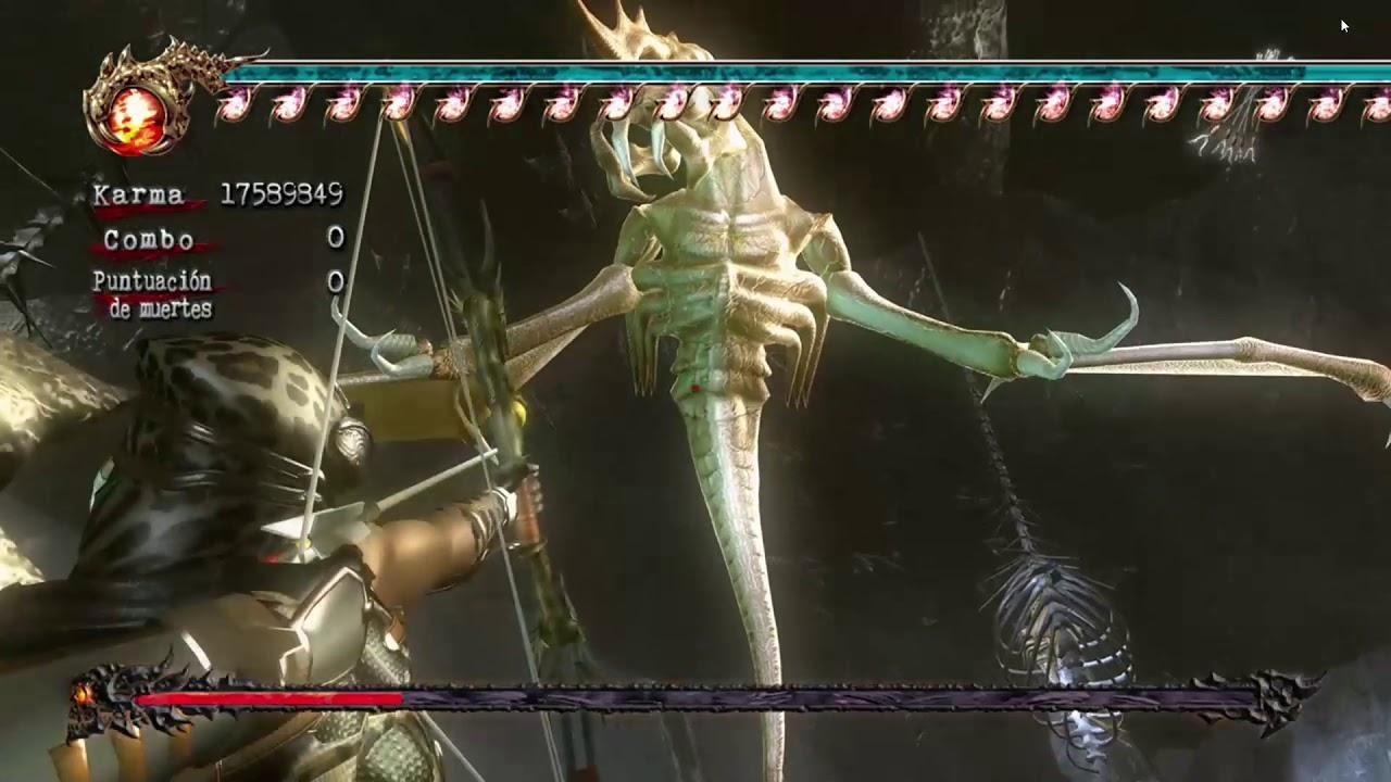 Ninja Gaiden 2 Xbox 360 Cheats Pasillo Cap 10 Guadana Del Eclipse Youtube