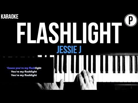 Download Jessie J - Flashlight Karaoke Slowed Acoustic Piano Instrumental Cover Lyrics