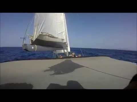 sailing to the cyclades