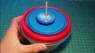Tutorial: homemade perpetual spinning top
