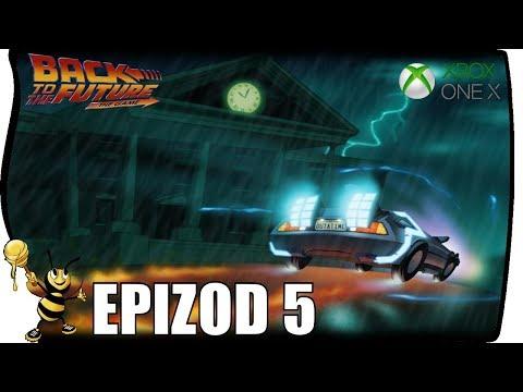 BACK TO THE FUTURE THE GAME PL - Epizod 5 Gameplay Koniec | XBOX ONE X (Darmowa Gra Z Live Gold)