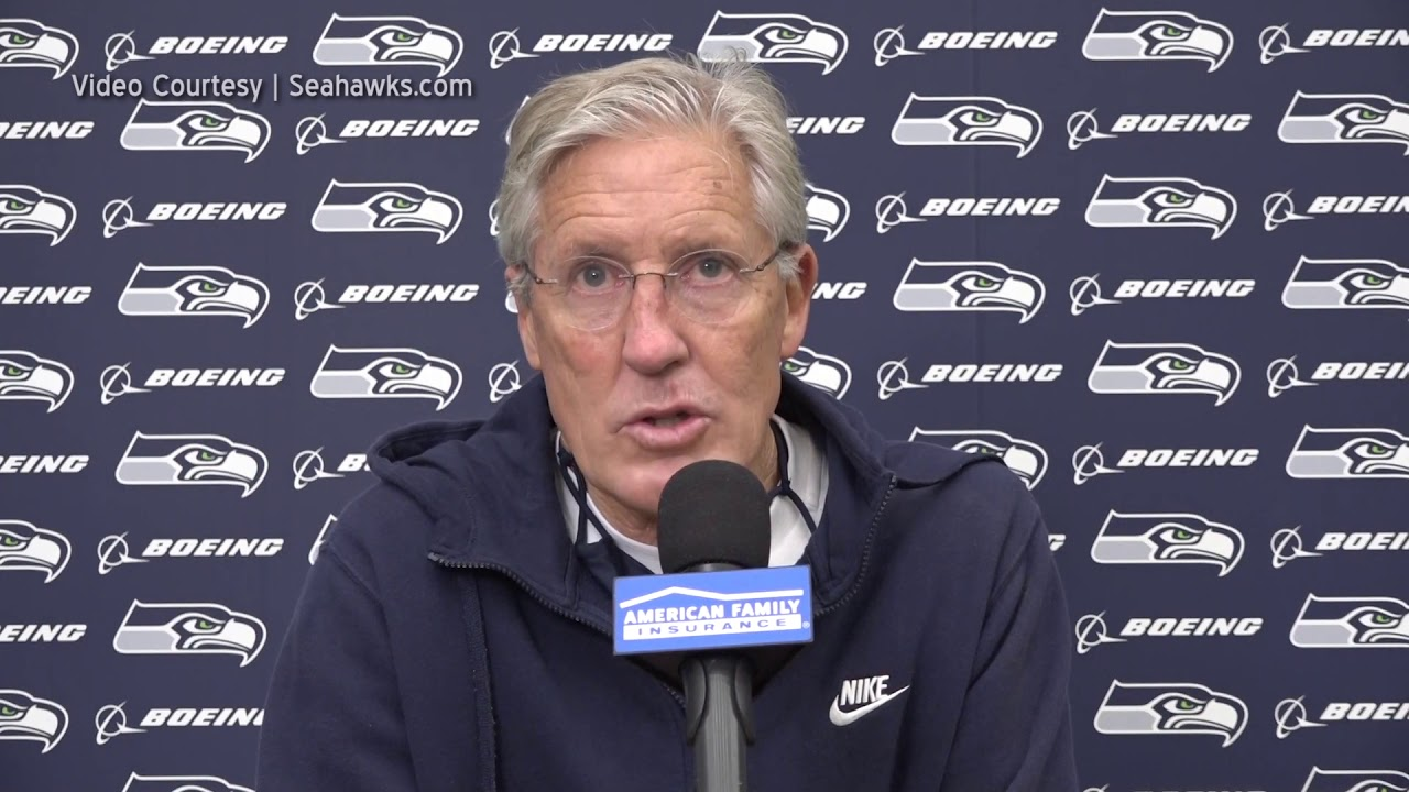 Pete Carroll on Running Backs 2020-11-05
