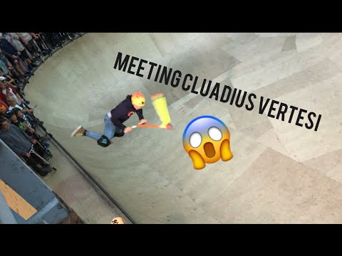 MEETING CLAUDIUS VERTESI!