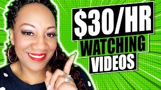 How To Make $30 Per Hour Just By Watching Videos Online ( Step By Step Hack )