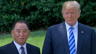 From youtube.com: Trump reveals details about meeting with top North Korean official After meeting with a top North Korean official at the White House, President Trump announced the summit he had canceled with the country's leader was back