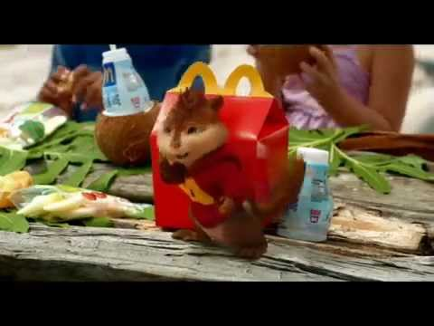 Alvin and the Chipmunks: Chipwrecked McDonalds Toys