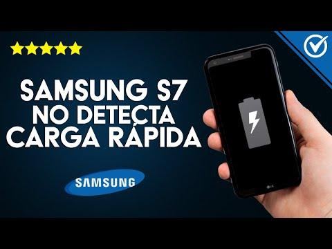 ¿Qué hago si mi Samsung Galaxy S7 o S7 Edge es de Carga Lenta o no Detecta la Carga Rápida?