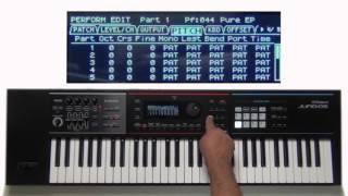 Roland Juno-DS - Advanced Layers and Splits 02