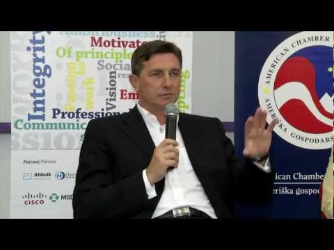 AmCham Young Professionals with Borut Pahor