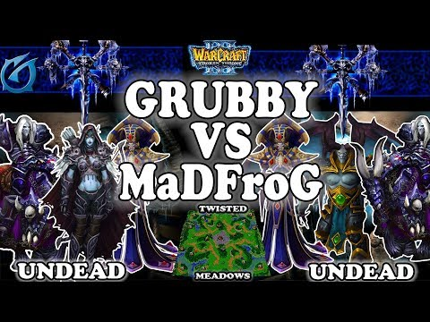 Grubby | Warcraft 3 TFT | 1.30 | UD v UD on Twisted Meadows - Grubby vs MaDFroG