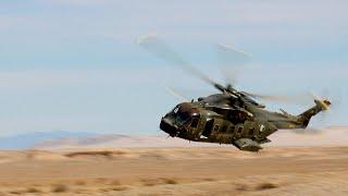 Danske helikoptere træner til kamp mod terrorister i Afrika