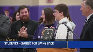 Father Ryan recieves honor from American Cancer Society