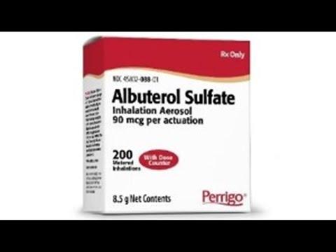 GRBJ: Perrigo Launches Generic Version Of Albuterol Inhaler