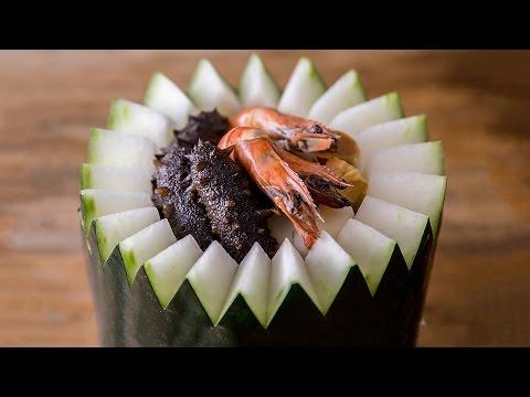 美食台 | 海鲜冬瓜盅,滋补又解腻
