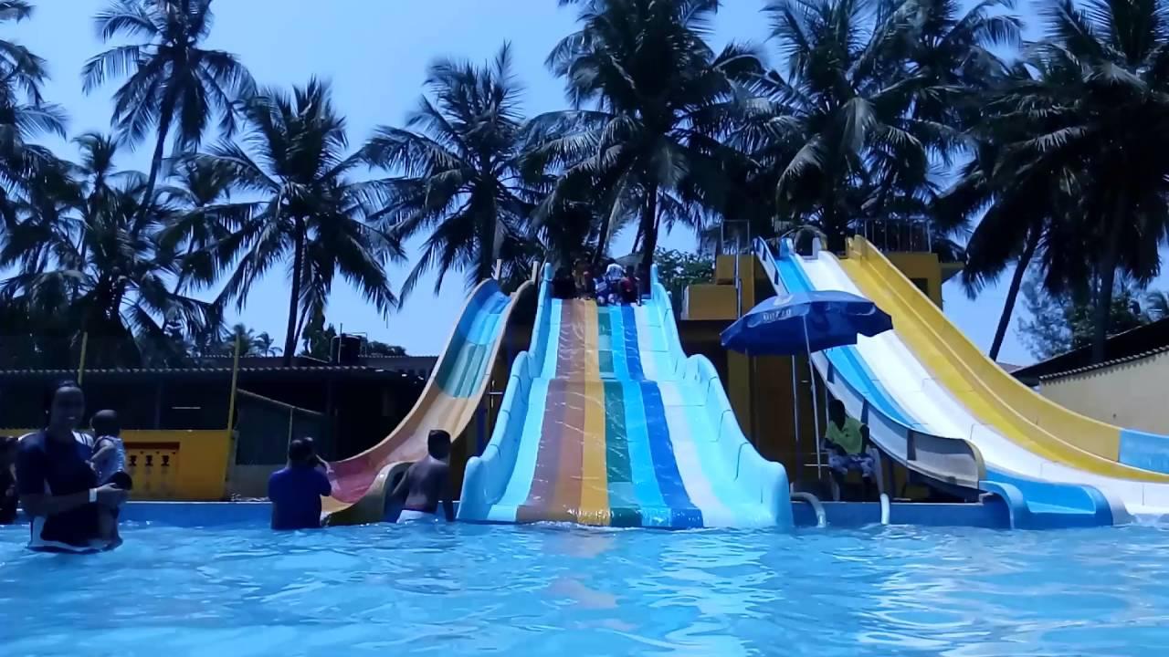 A Visit To Nakshatra Resort Virar Swimming Pool Slides Rain