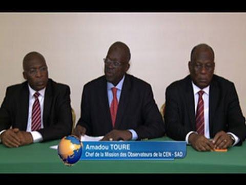 Présidentielle 2015: Déclaration de la mission de la Cen-Sad