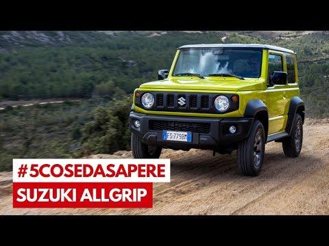 Suzuki ALLGRIP: 5 Cose da Sapere sulla trazione integrale Suzuki