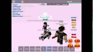 (Roblox-Dragonball Rp:Legends Gameplay Part 1)