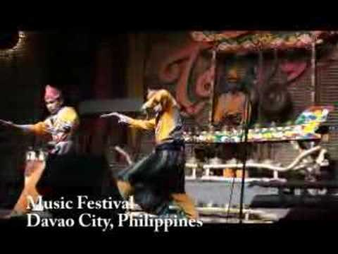 Davao Music Festival - Traditional Dance & Agong Philippines