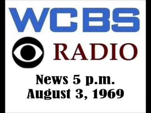 CBS RADIO NEWS FROM WCBS RADIO AT 5 P. M., AUG 3, 1969