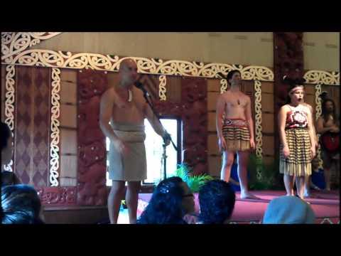 Kapa Haka Champs from Gisborne, NZ (part 1)