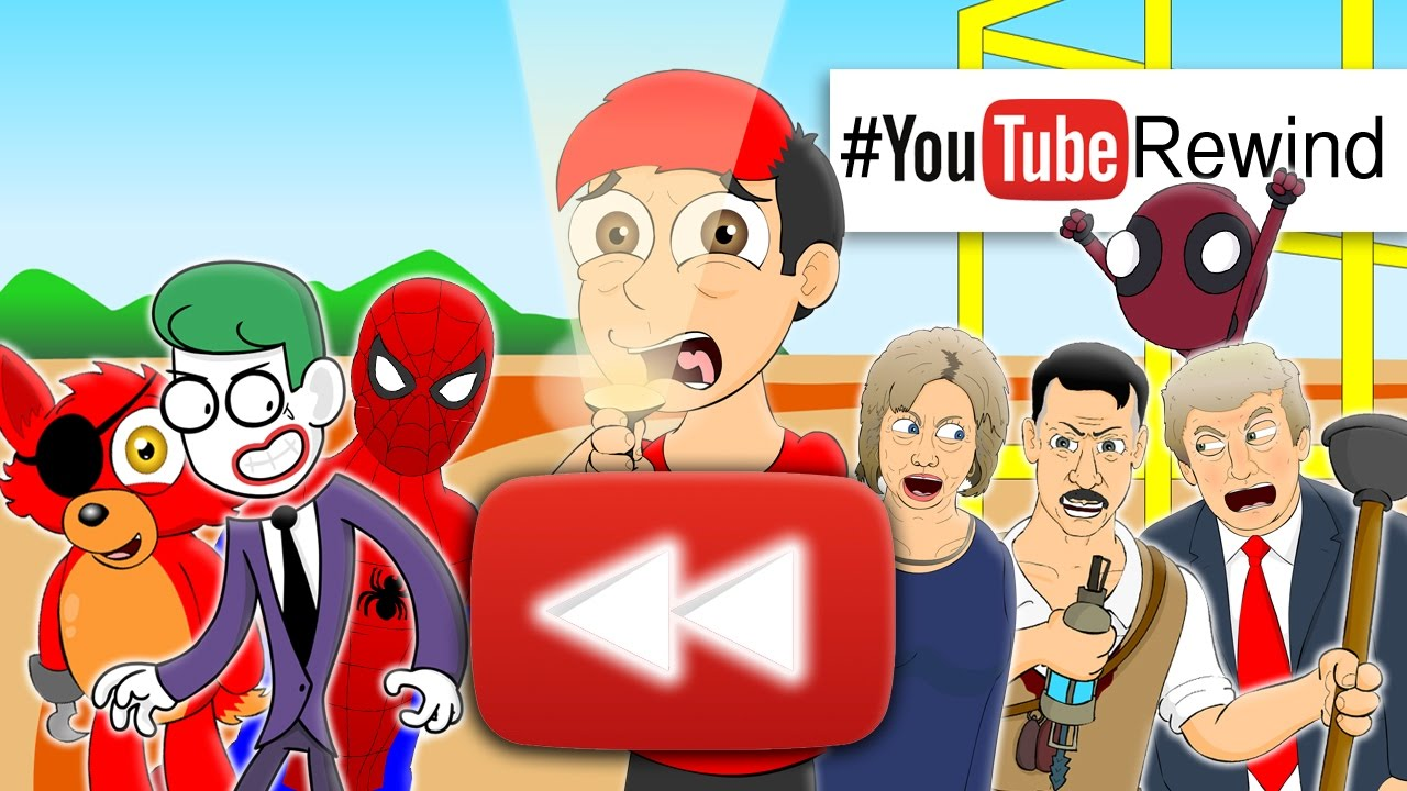 Youtube Rewind 2016 Lhugueny Edition Youtuberewind Youtube