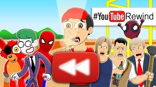 Repeat youtube video YouTube Rewind 2016: Lhugueny Edition | #YouTubeRewind